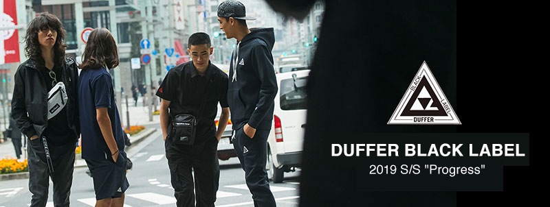 DUFFER BLACK LABEL