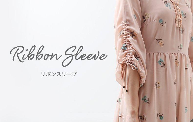 Rribbon sleeve / リボンスリーブ