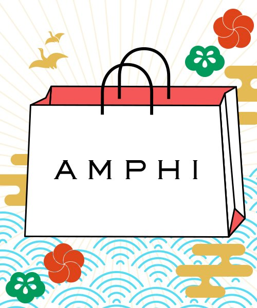 【AMPHI】HAPPY BAG