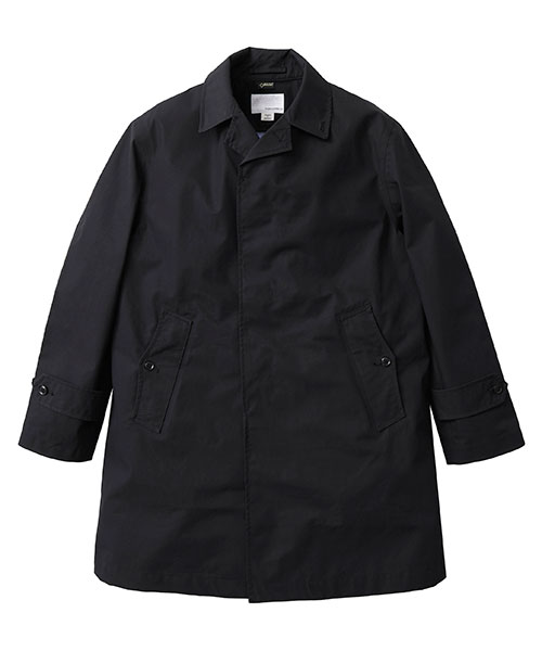 nanamica Gore-Tex Soutien Collar Coat SUBF800: Black