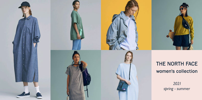 THE NORTH FACE women's collection 2021 s
