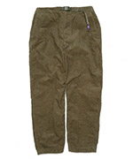 Corduroy Wide Tapered Pants