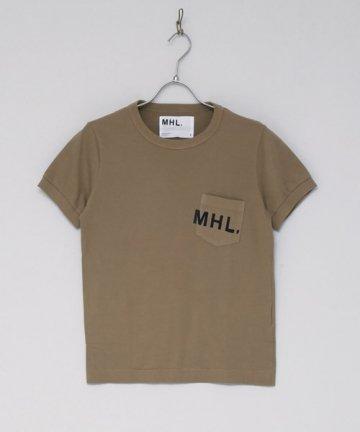 MHL.ロゴTシャツ